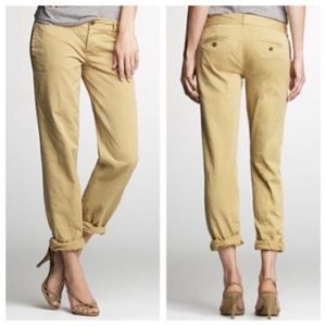 JCREW Slim Broke in Boyfriend pants